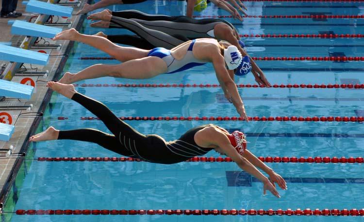 Estiramientos para nadadores: erector de columna