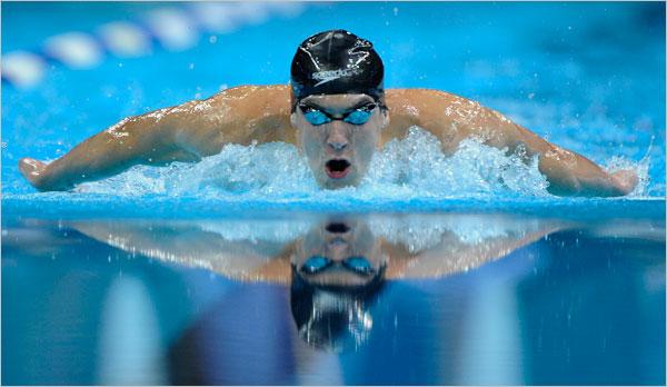 Estiramientos para nadadores: tríceps