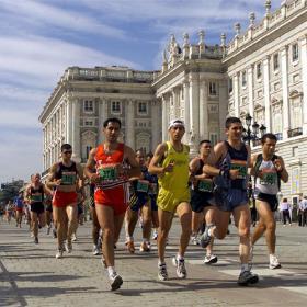 Los corredores de maratón pueden sufrir más problemas de alergia