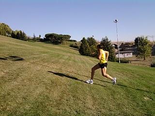 El trabajo de fuerza de un corredor: las cuestas