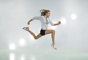 El trabajo de fuerza de un corredor: multisaltos