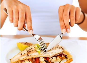Pierde más calorías comiendo