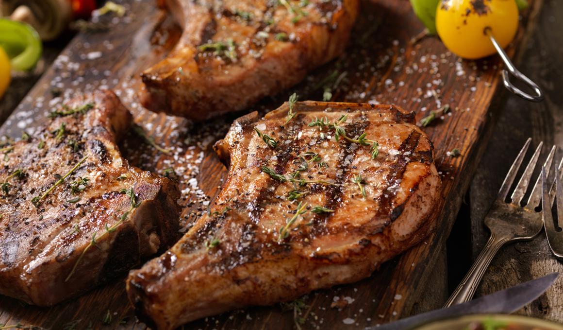 Alimentos deportivos: Carne de cerdo