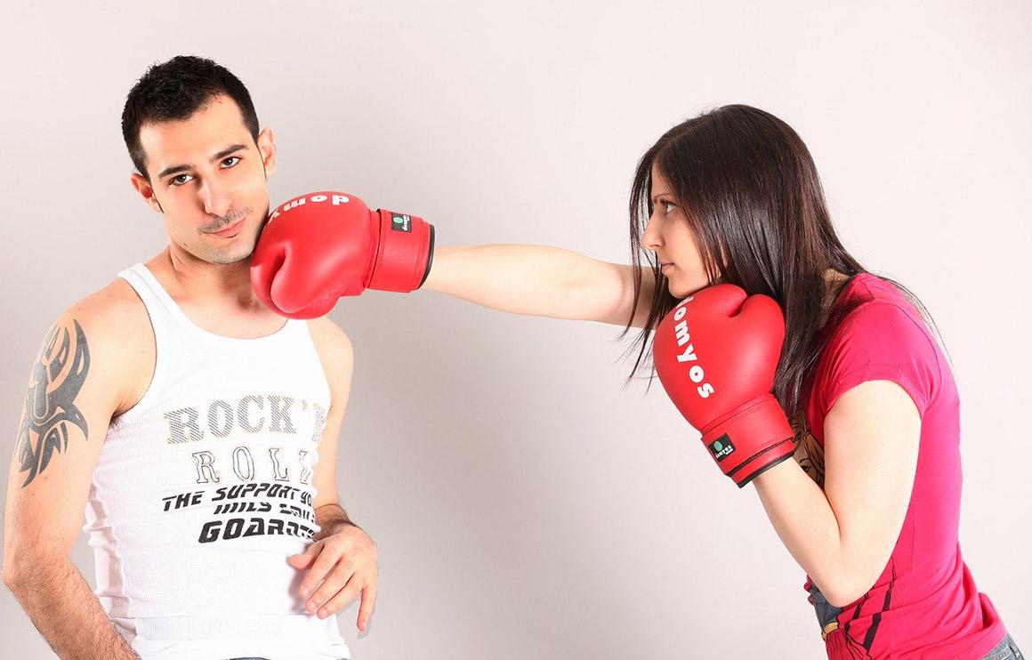 Los deportes de contacto para chicas, armas quema-grasas