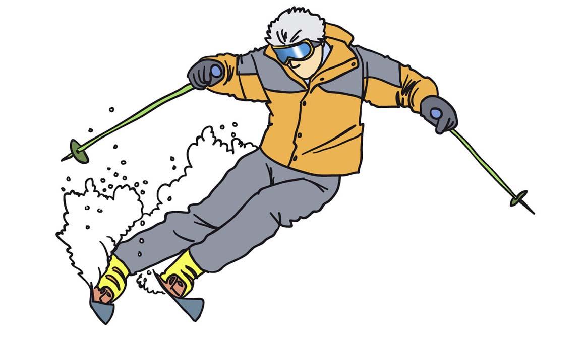 Los consejos básicos para corregir tus errores en el esquí