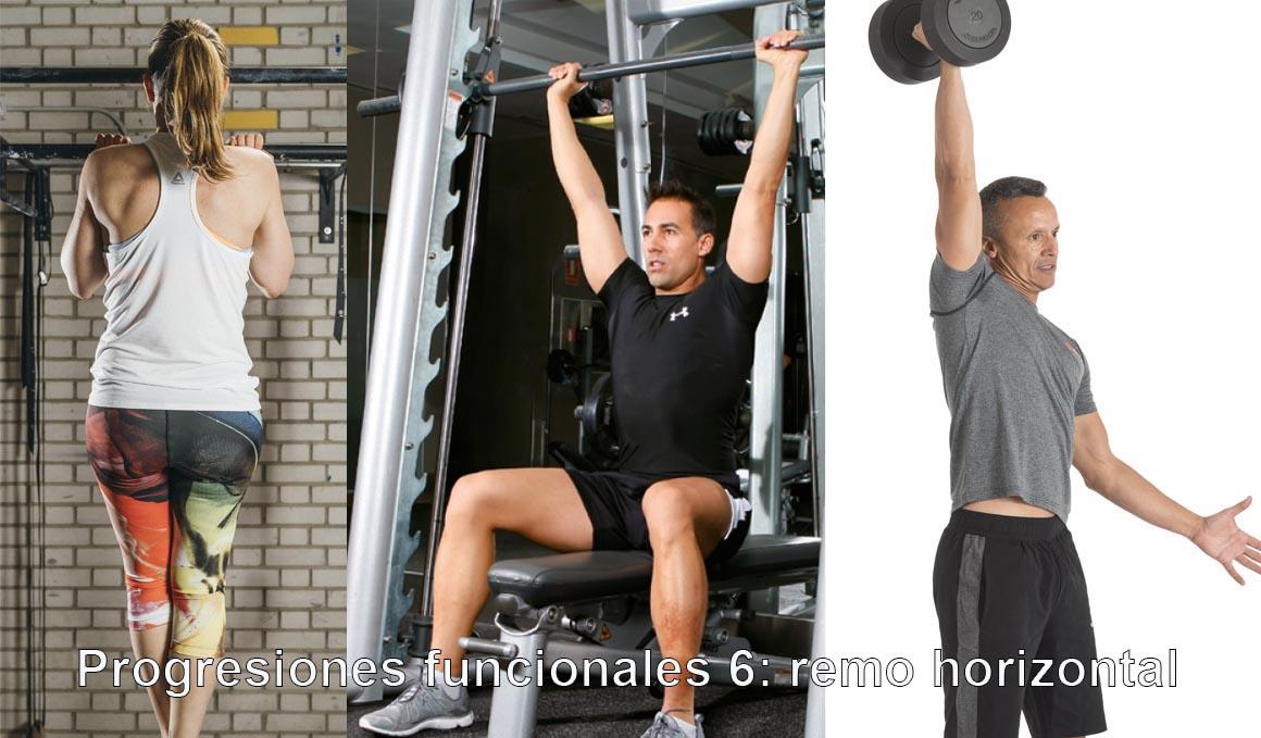 Las progresiones funcionales 6: remo horizontal
