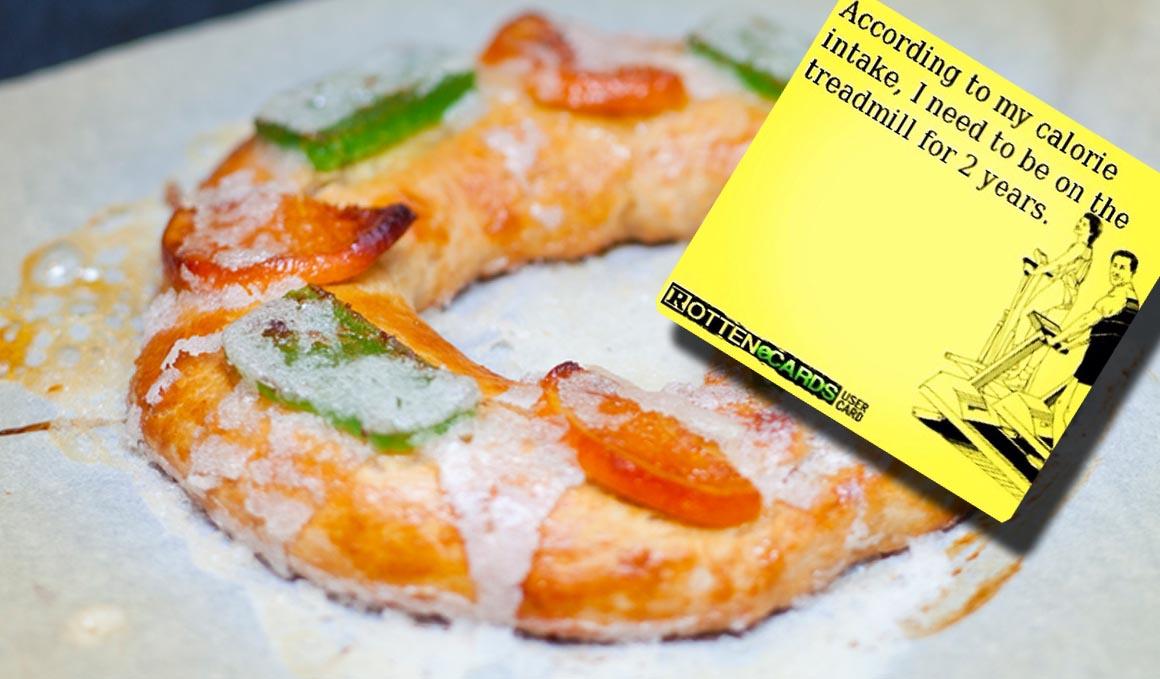 ¿Cuántas calorías tiene el Roscón de Reyes? Receta sencilla