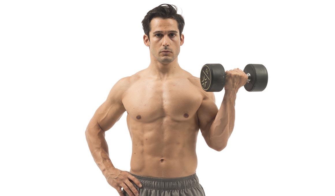 Yo ya no hago bíceps de manera aislada