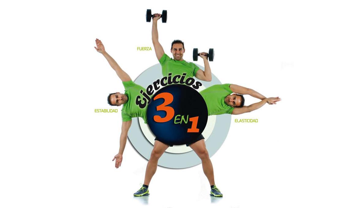 Estos ejercicios que valen por tres