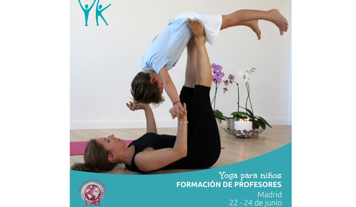 Curso intensivo de profesores de yoga para niños en Madrid