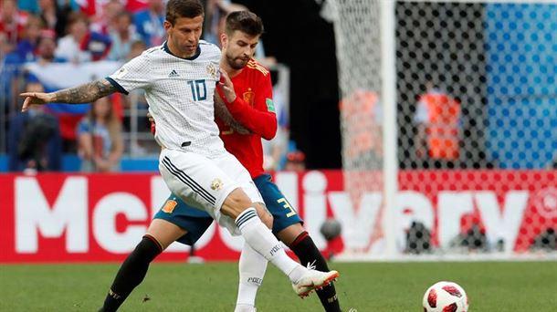 Esnifar amoniaco, el truco de la selección rusa en el Mundial de fútbol