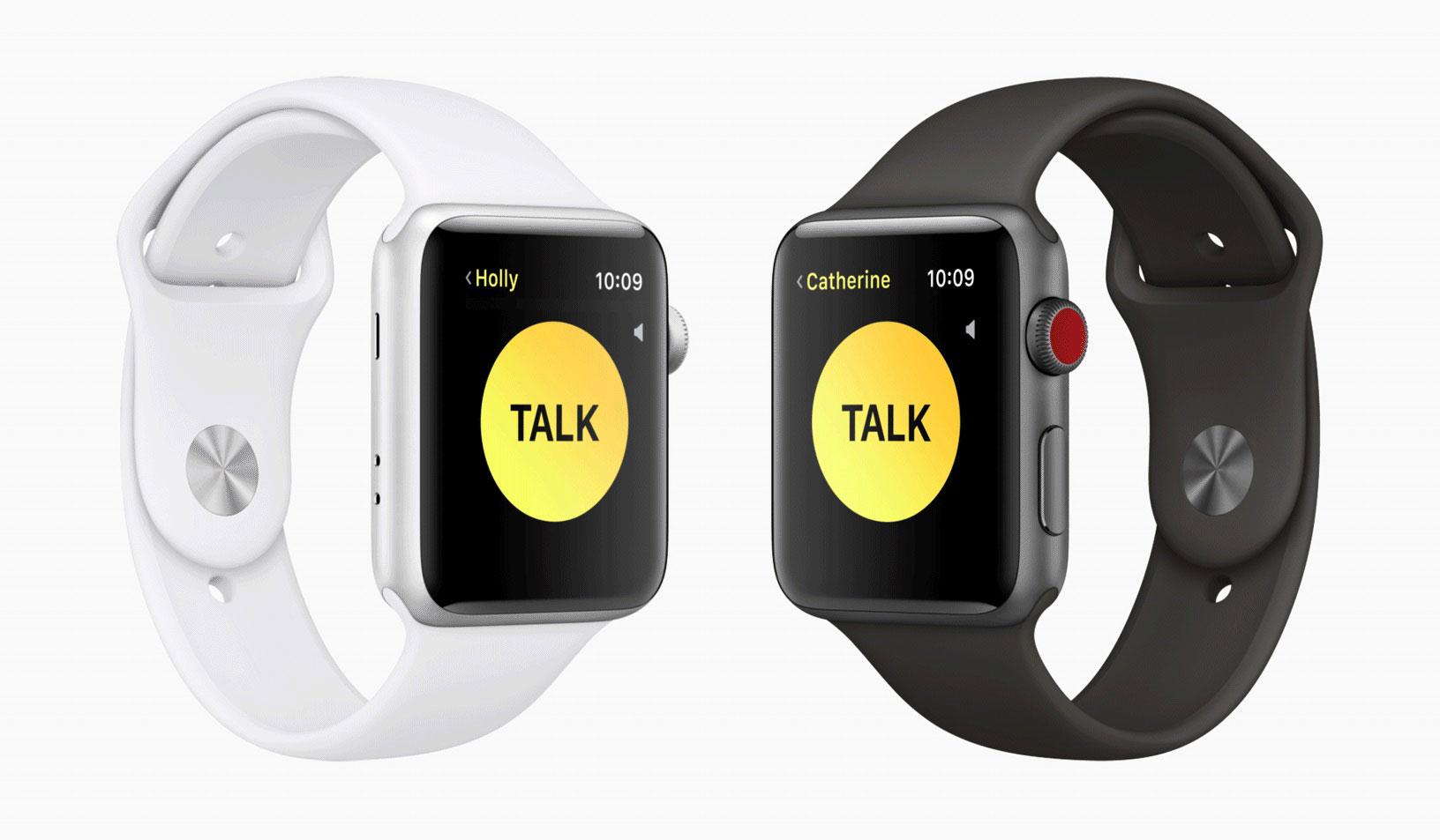 El reloj que sirve de walkie-talkie