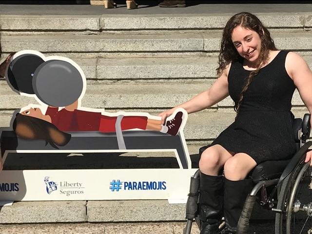 ¿Y por qué no hay emoticonos de los deportistas paralímpicos?