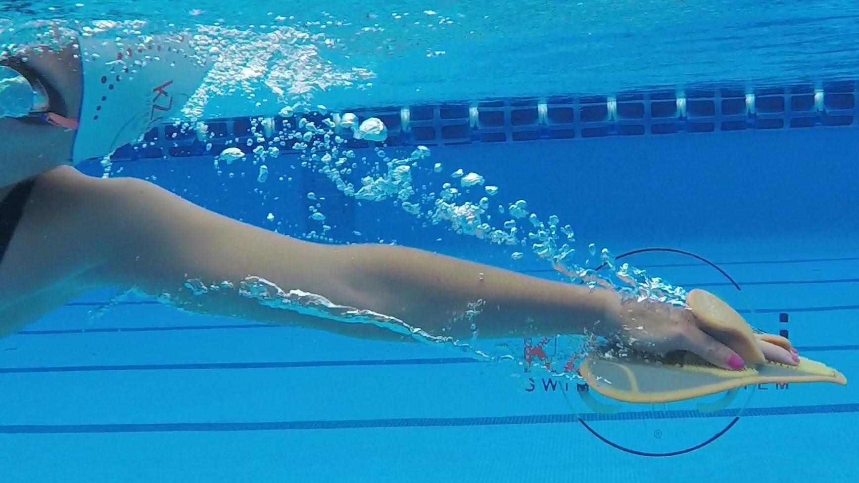 El material que te enseña a nadar