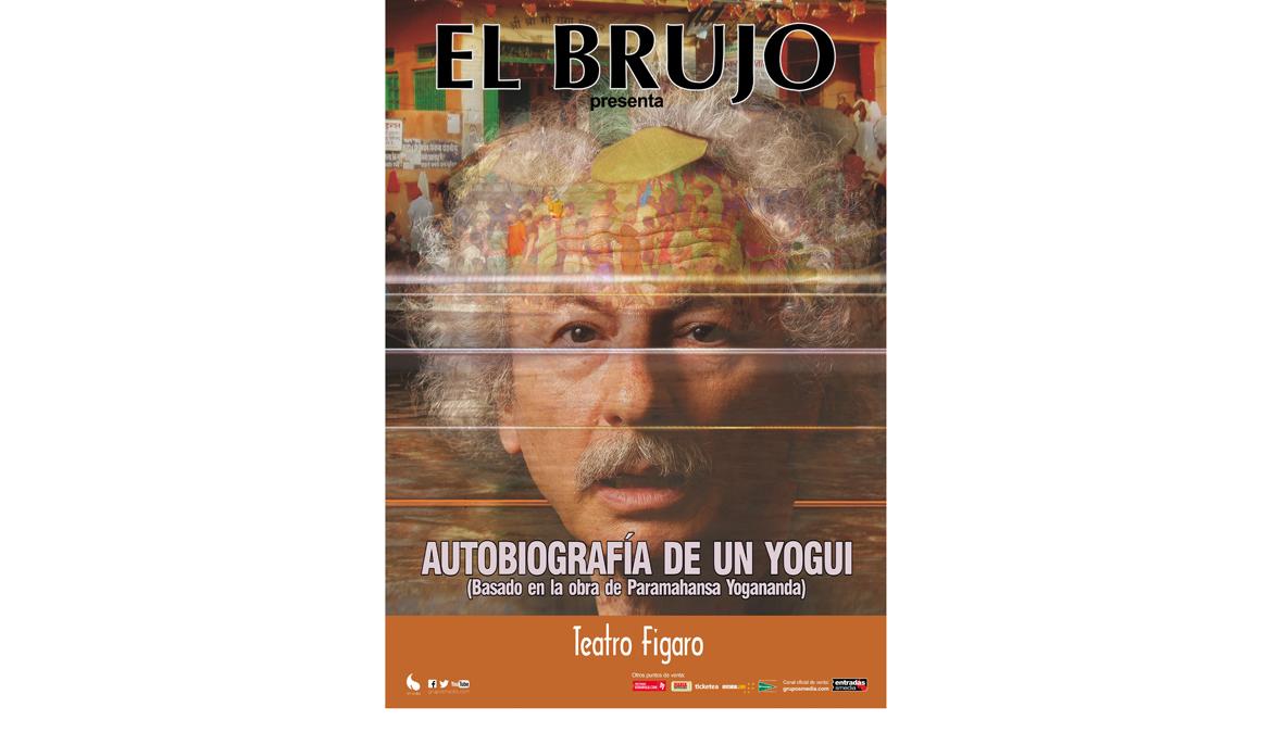 Sorteo de 8 entradas dobles para ver 'La autobiografía de un yogui' por El brujo