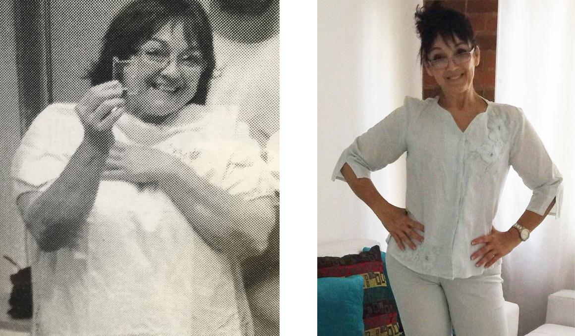 Club pérdida de peso: el caso de Ludyn Rojano, de 105 a 63 kg