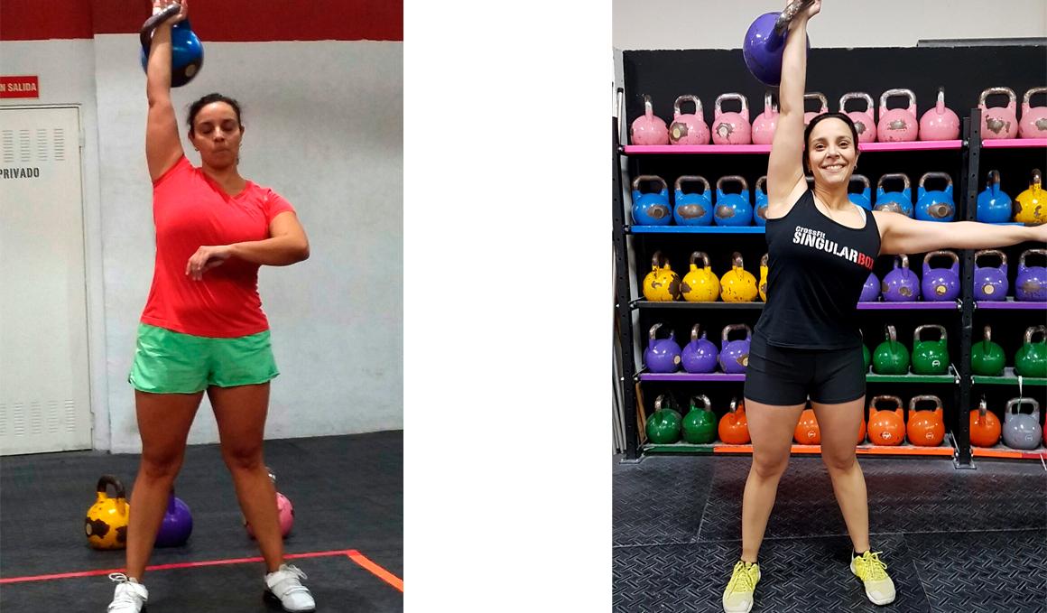 Club Pérdida de peso: Cioly Rivero, 20 kilos menos gracias al CrossFit