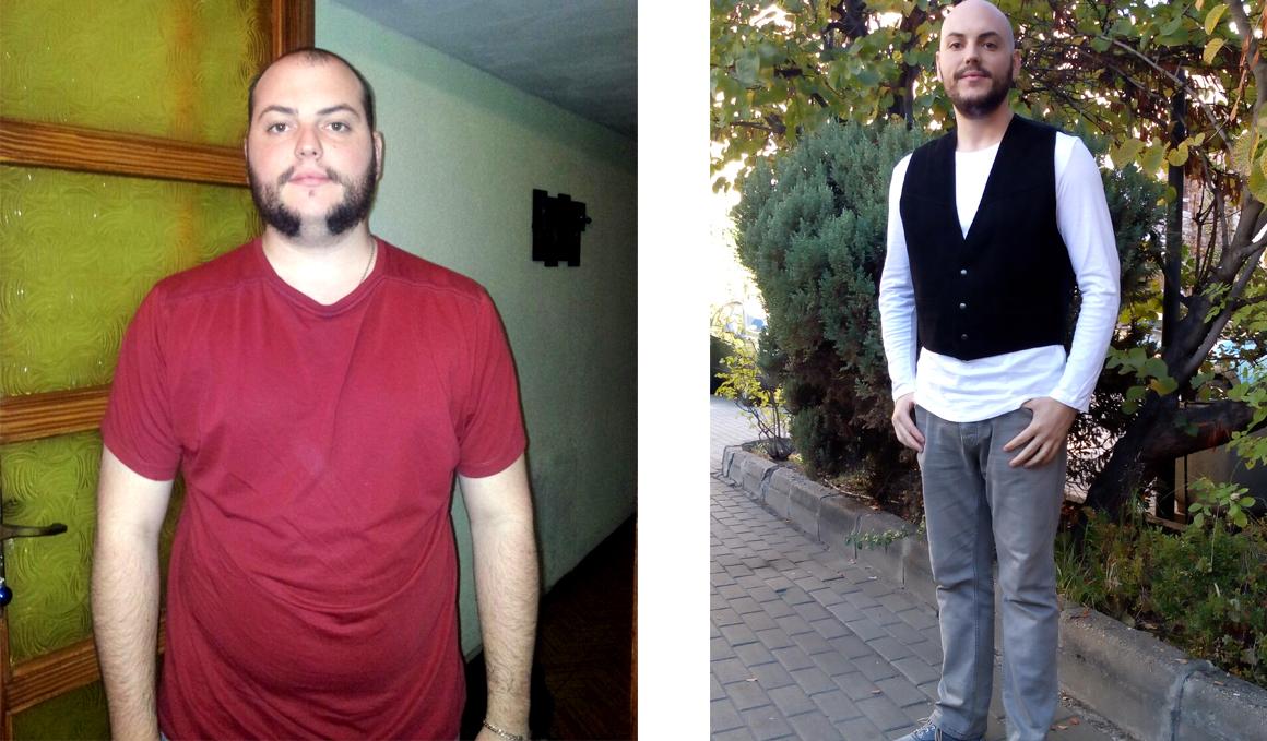 Club pérdida de peso: Iván Blanco, 27 kilos menos organizando sus comidas