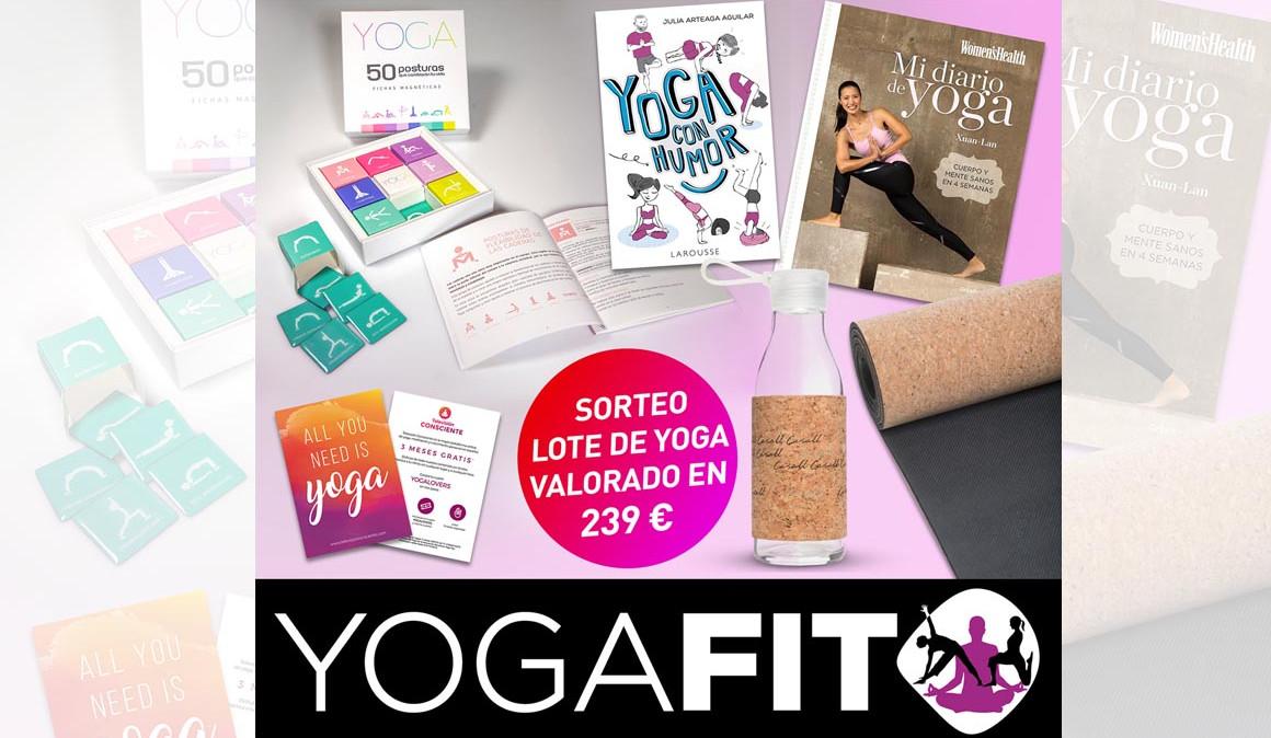 ¡Y estos son los ganadores del sorteo de los 2 pack YogaFit!