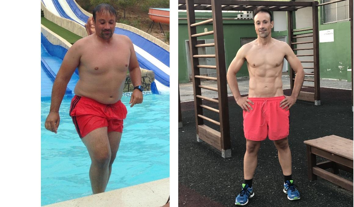 Club pérdida de peso con Miguel Clemente: perdió 22 kilos en menos de un año