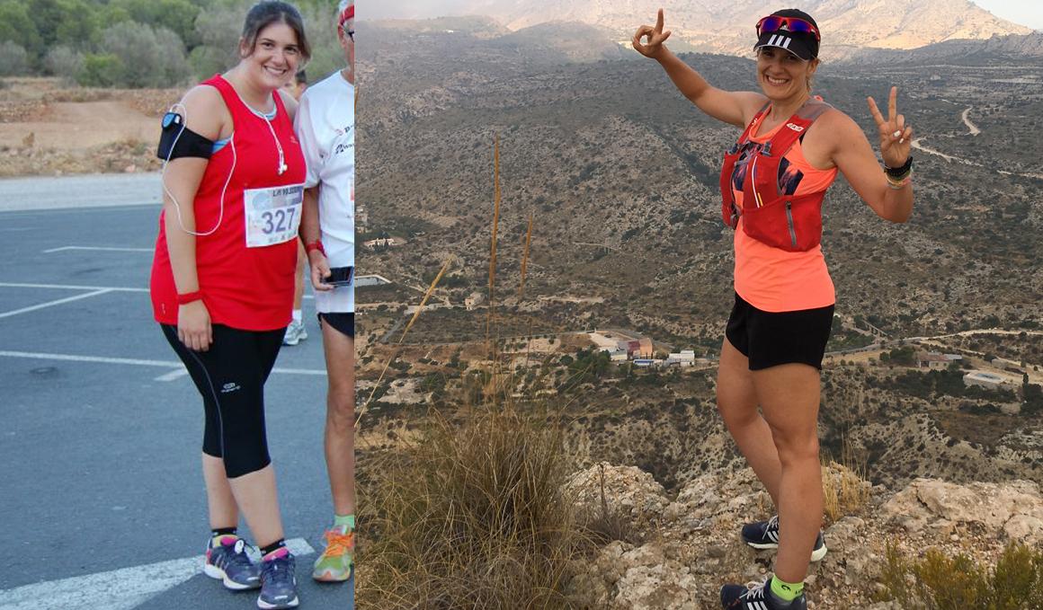 Club pérdida de peso: Erica Sánchez ha perdido 35 kilos gracias al running