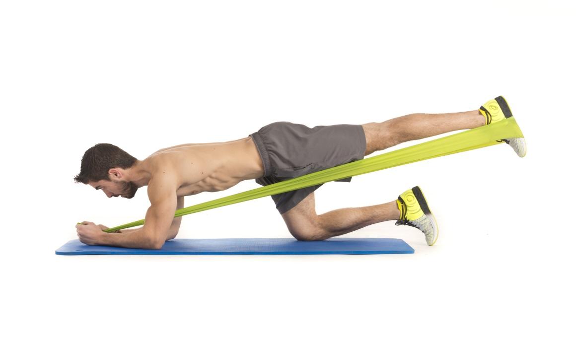 5 ejercicios con tensor para piernas