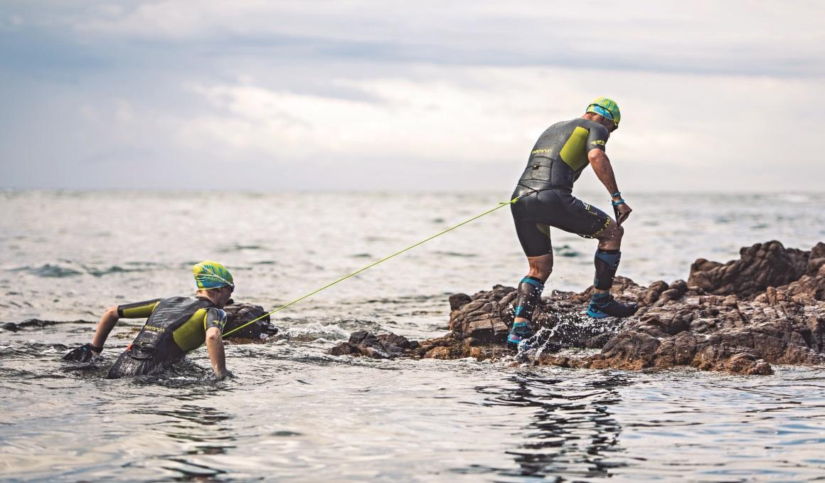 SwinRun, la modalidad que mezcla el trail running y el nado de travesía