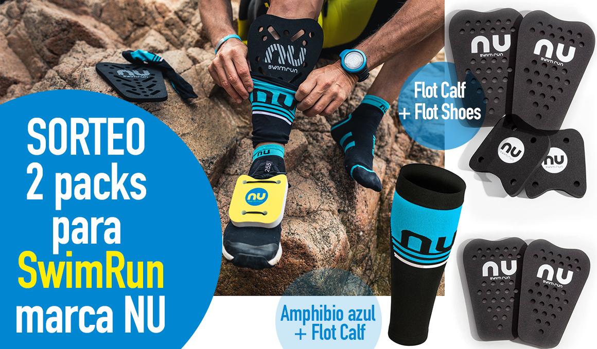 Sorteo: consigue tu equipación de SwimRun de productos NU