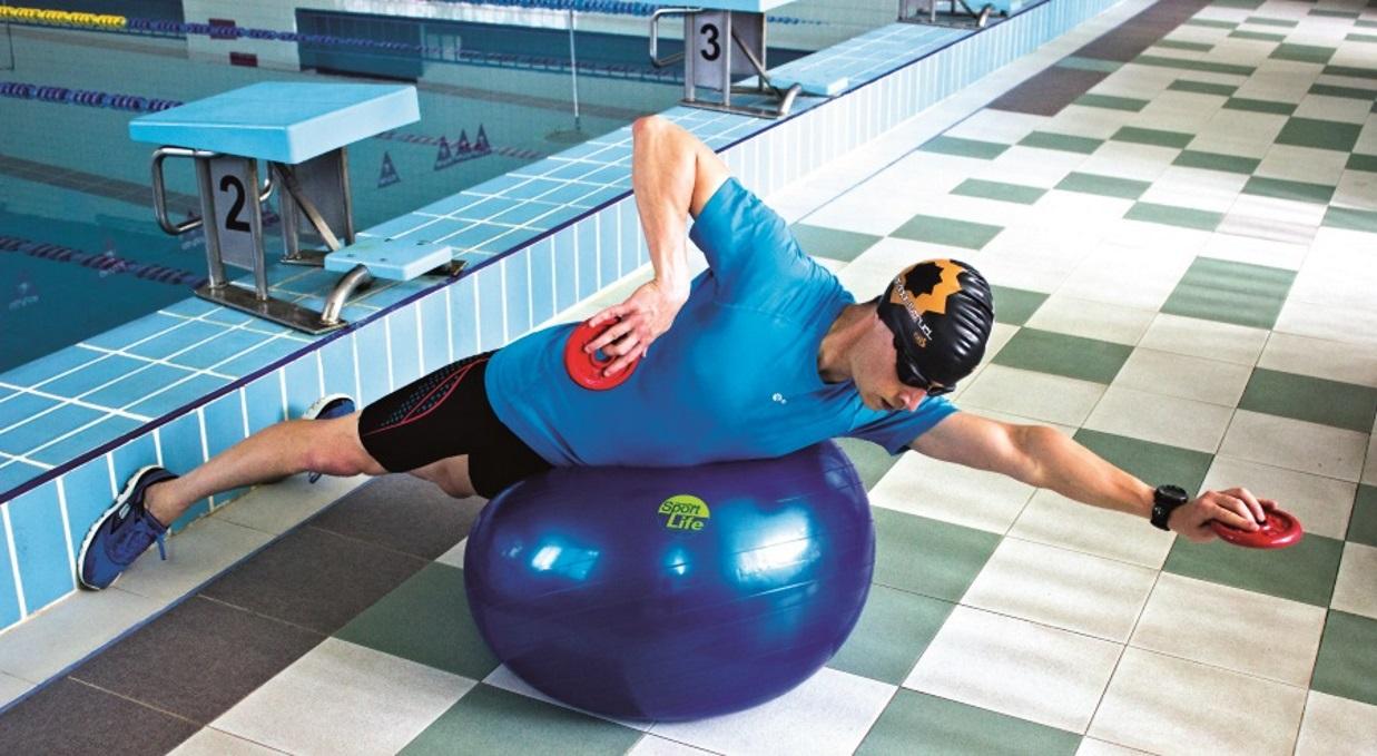 Entrena fuerza para la natación... ¡lejos de la piscina!