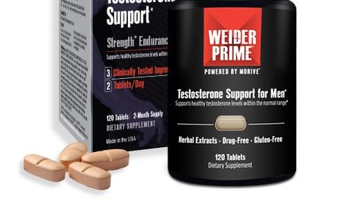 Weider Prime: así ayuda a tus músculos a mejorar