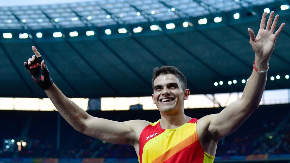 Bruno Hortelano cuarto en los 200 metros del Europeo