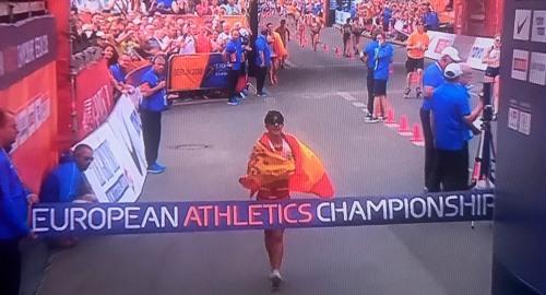 Recital del equipo español en los 20 Km marcha: ¡doble oro europeo!