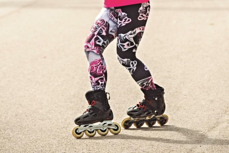 El Backwards Criss-Cross o cómo patinar cruzado de espaldas