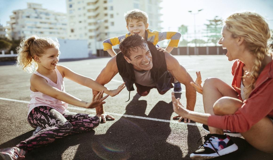 Haz deporte con tus hijos