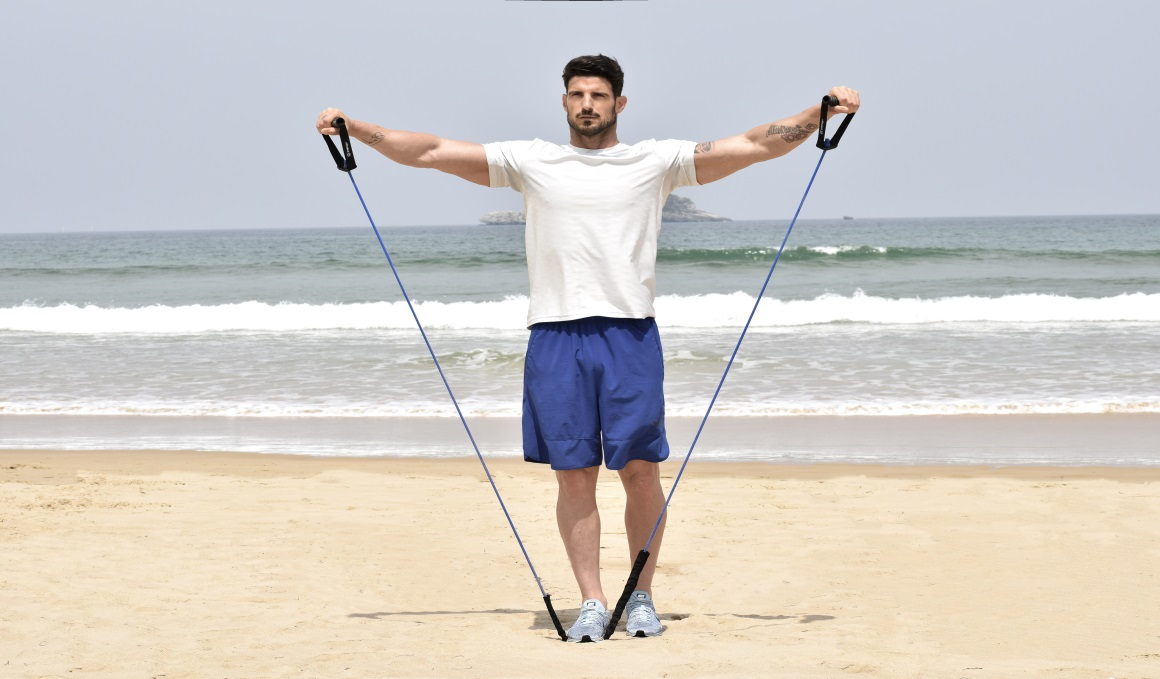 Las claves de Aitor Ocio para estar en forma a los 40