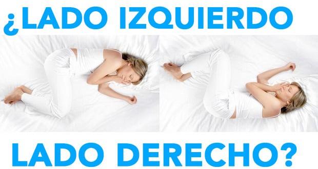 Dormir del lado izquierdo te hace ganar salud