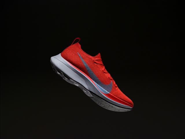 La nueva edición de las Nike Vaporfly 4% con su placa de carbono