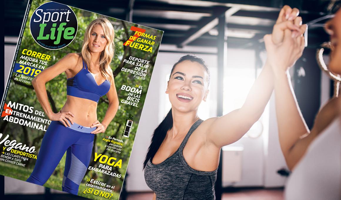 Recupera la forma con la revista Sport Life de septiembre