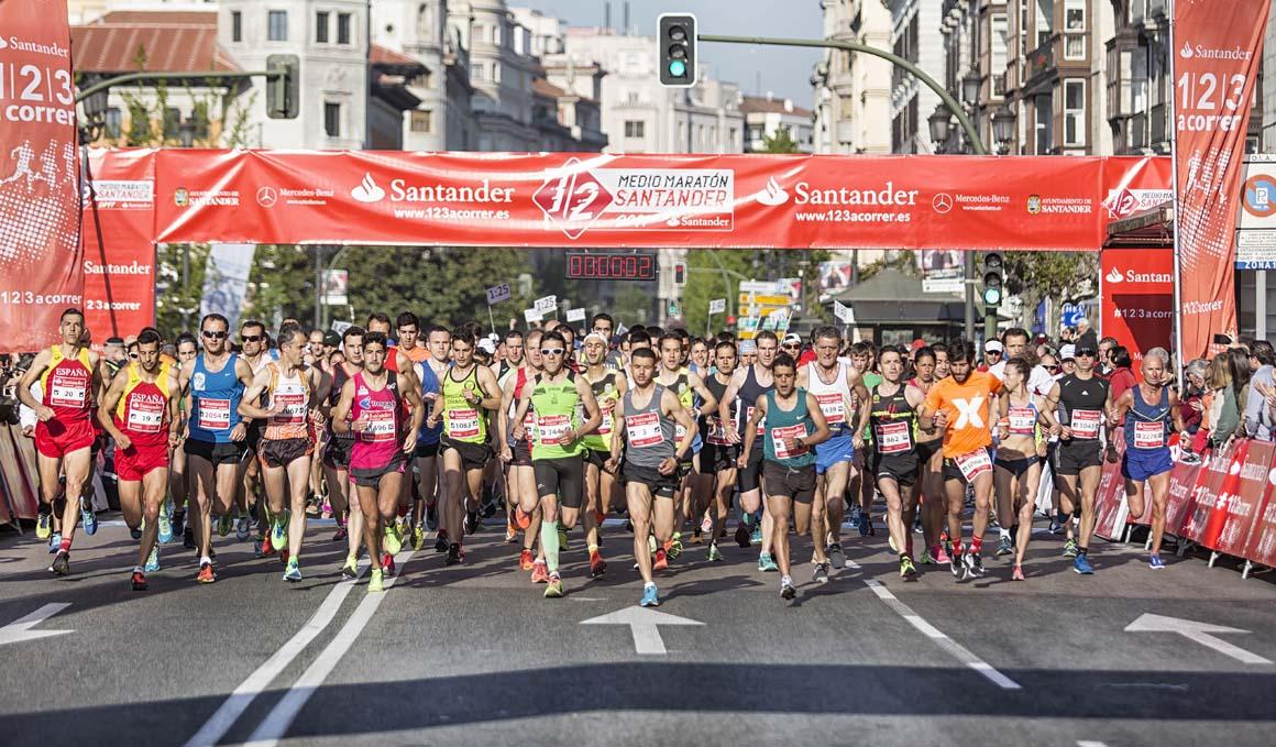 Sorteamos 10 inscripciones para el Medio Maratón de Santander, ¡prueba suerte aquí!