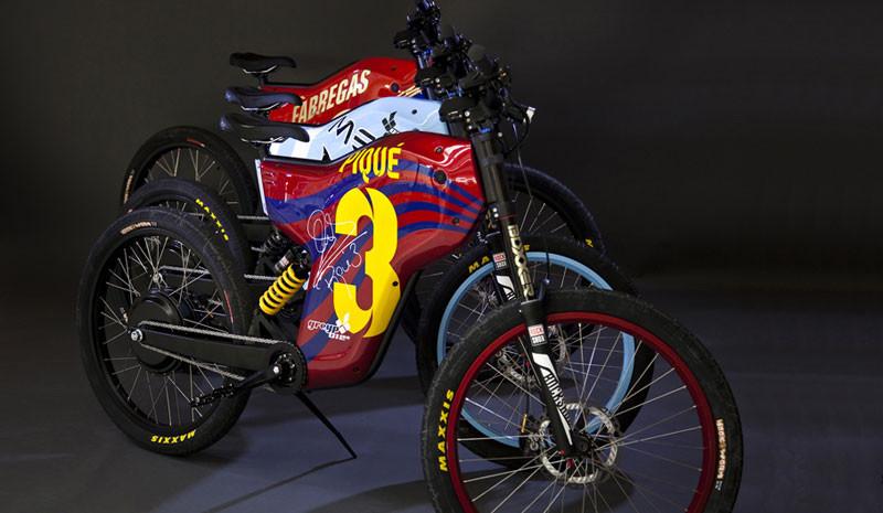 La super bici-eléctrica de Pique…¡que tampoco puede conducir sin carnet!
