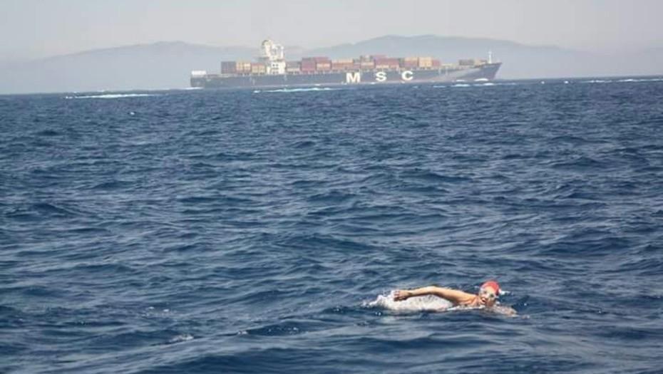 El sueño de cruzar a nado el Estrecho