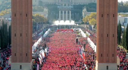 Abiertas las inscripciones para las Carreras de la Mujer de Zaragoza y Barcelona