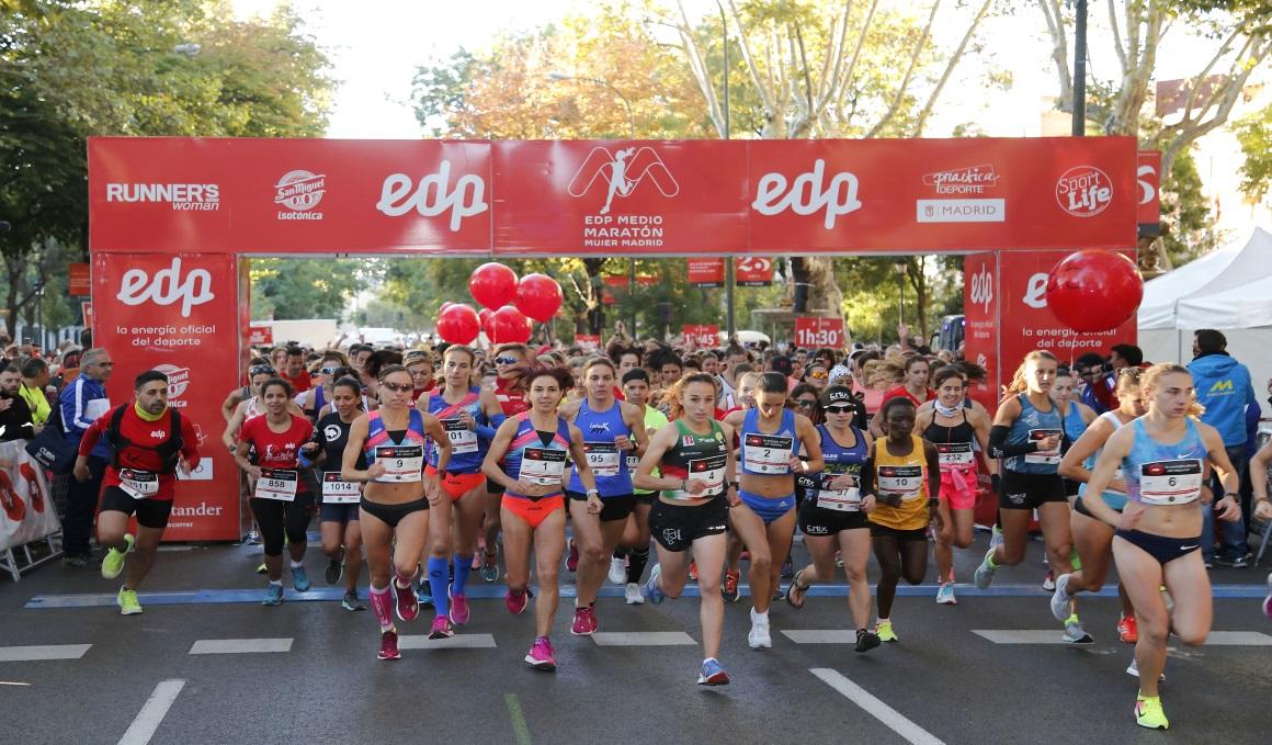 Gana una de las diez plazas que sorteamos para el EDP Medio Maratón de la Mujer