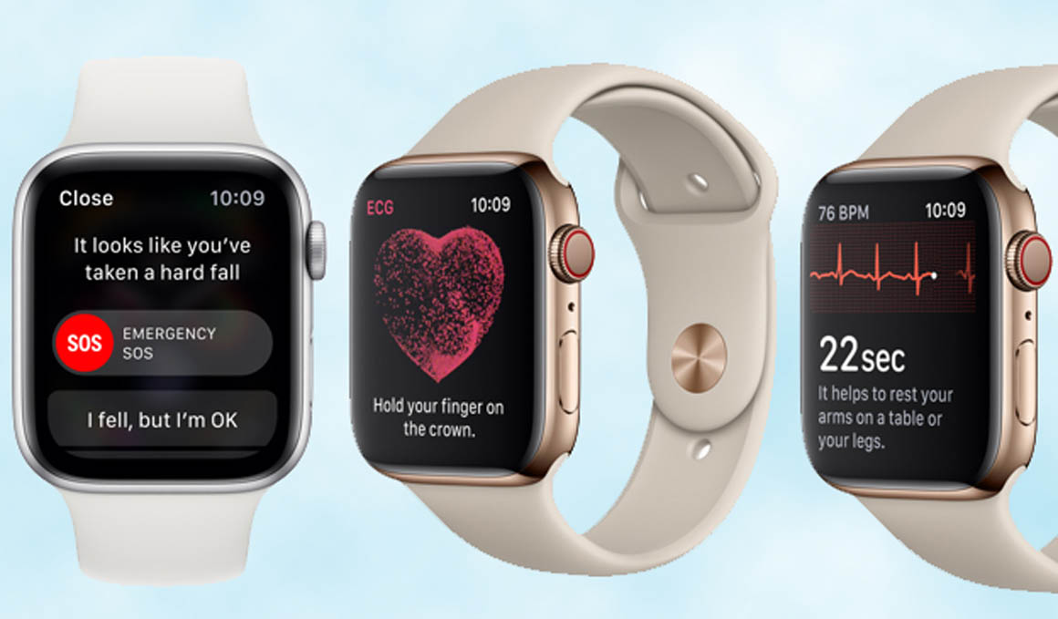 ¿Necesitas un electrocardiograma? Ponte el nuevo Apple Watch 4