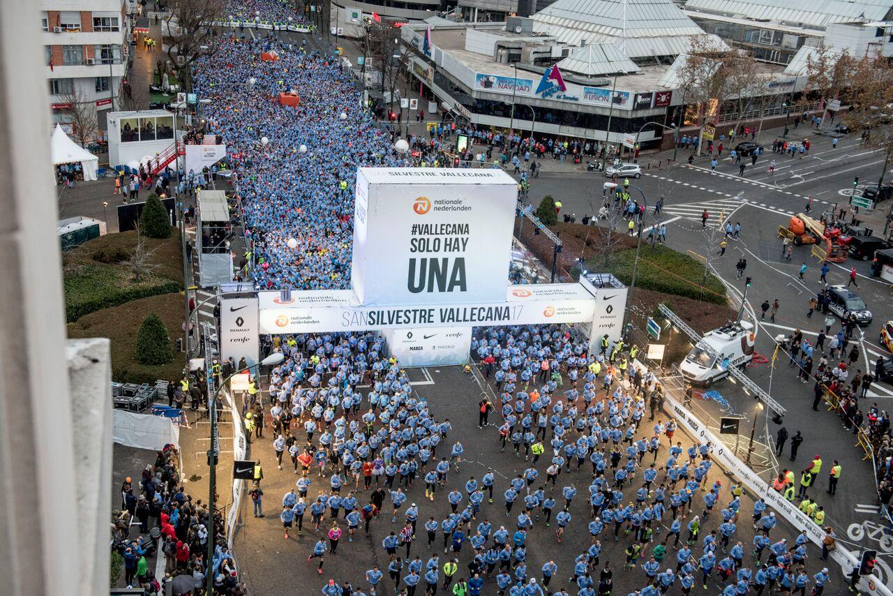 ¡20.000 inscritos en la Vallecana en 72 horas!