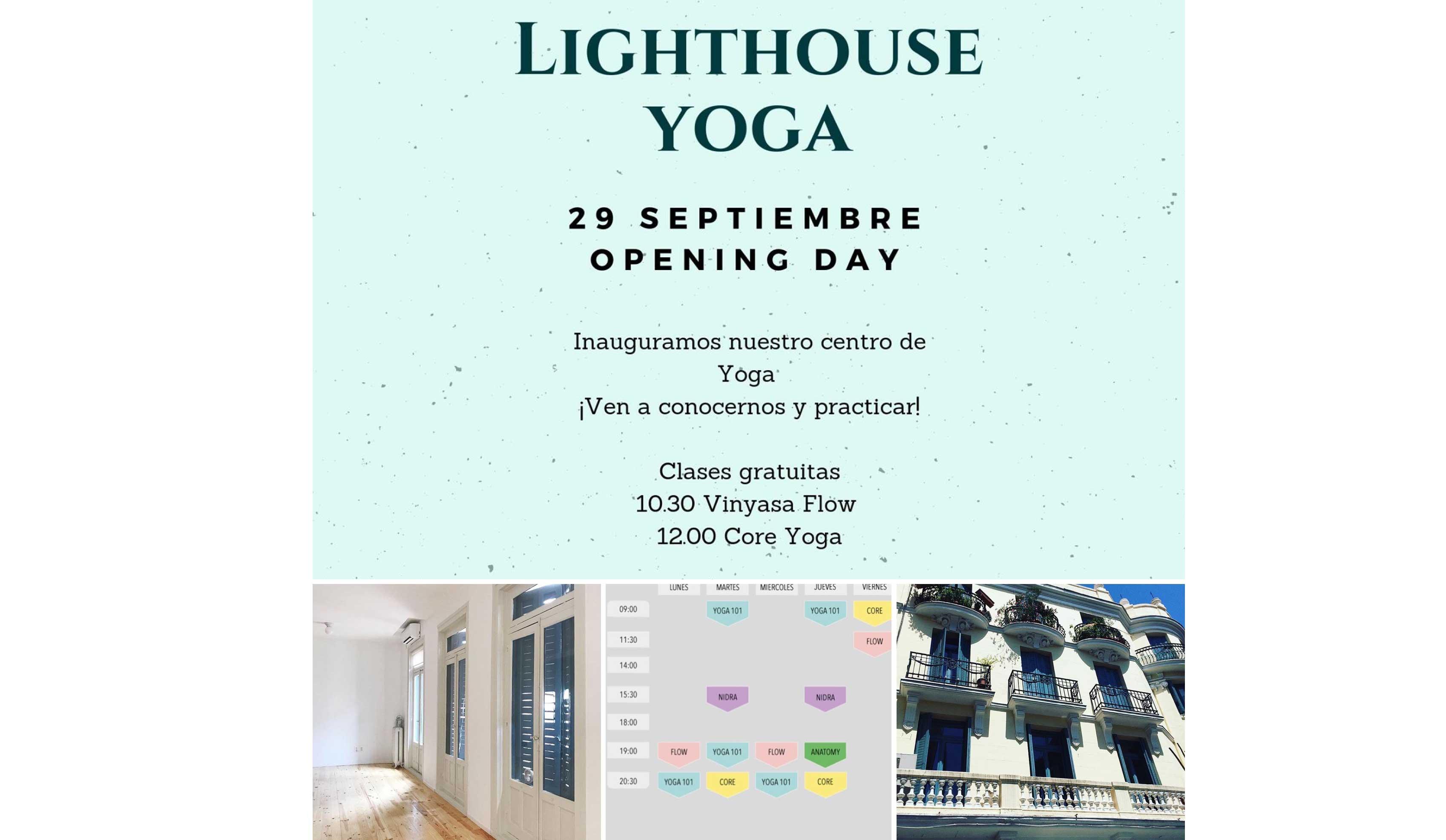 LightHouse Yoga, nuevo centro en Madrid