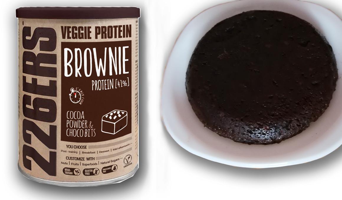 Prepara tu propio pastel proteico, con un simple microondas
