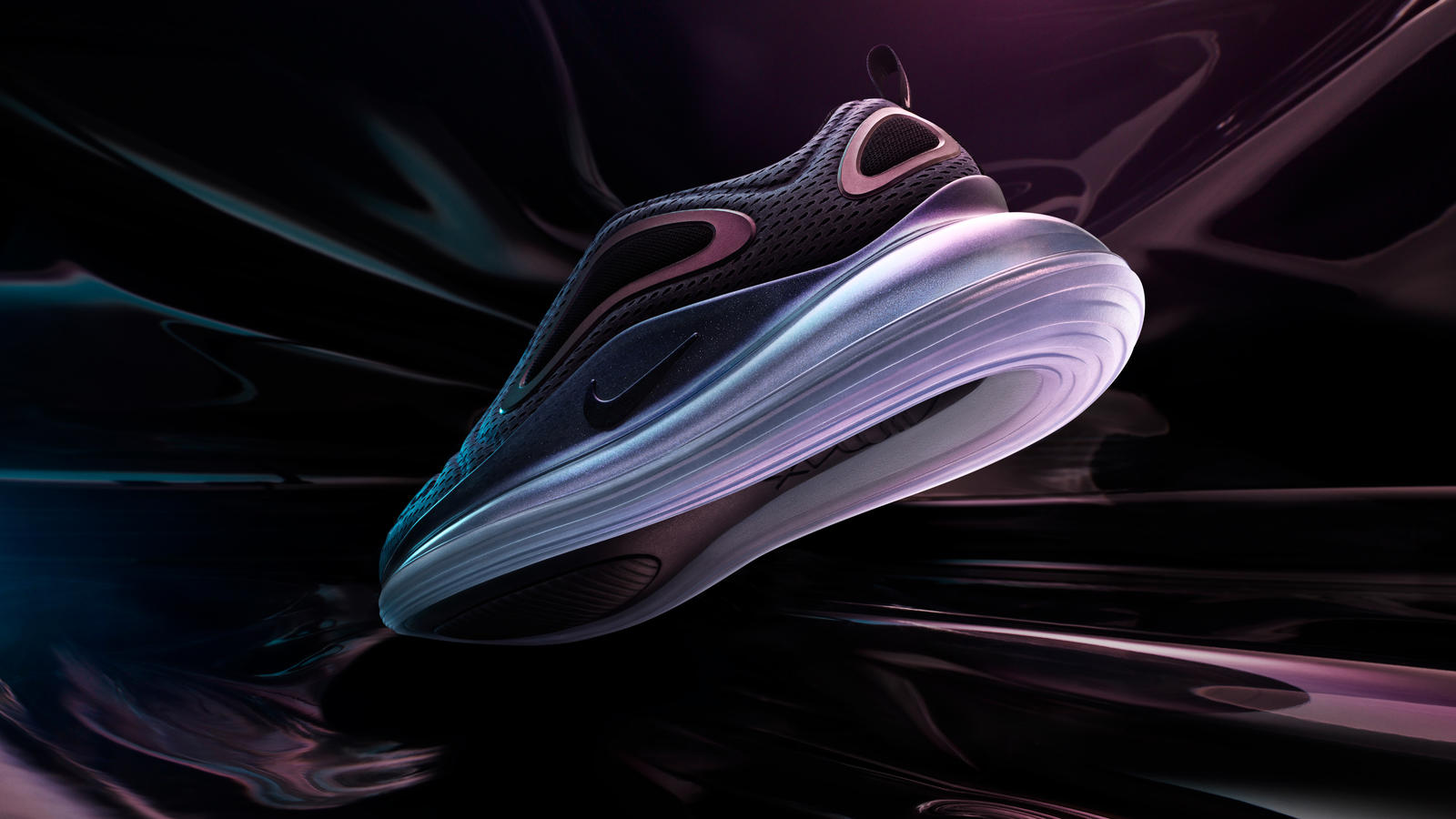 La espectacular Nike Air Max 720