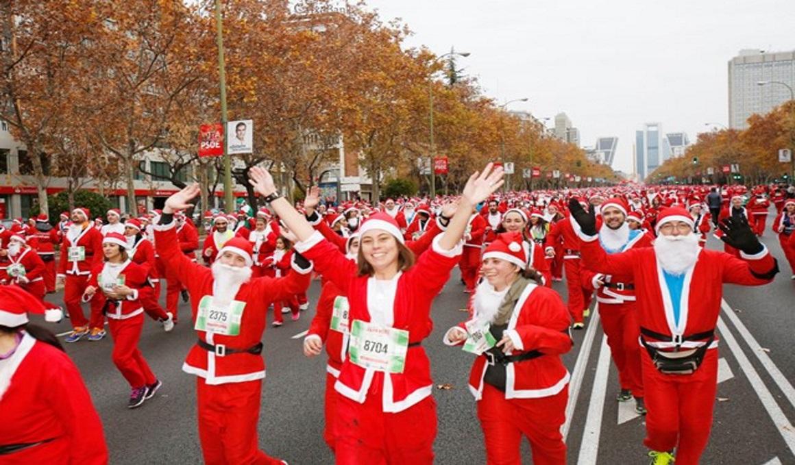 ¡Oferta 24 horas! ¡Apúntate a la Carrera Papa Noel por sólo 10 euros