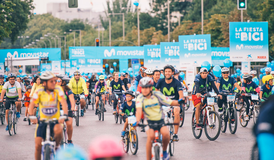 ¡No te pierdas la Fiesta de la Bici Movistar 2018!